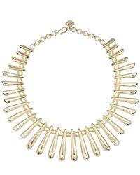 Kendra Scott - Metallic Jill Statement Necklace In Gold - Lyst