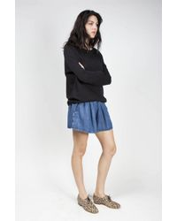 Won Hundred - Blue Bonny Elastic Waist Short - Lyst