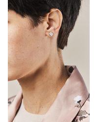 Ginette NY - Multicolor Round Sequin Diamonds Studs - Lyst