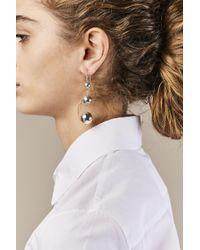 Sophie Buhai - Metallic Silver Maryam Earrings - Lyst