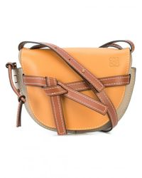 Loewe - Multicolor Gate Saddle Tricolor Bag - Lyst