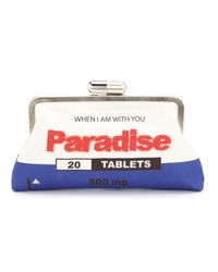 Sarah's Bag - Blue Paradise Clutch - Lyst