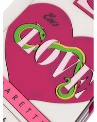 Yazbukey - Multicolor 'love Cigarettes' Clutch - Lyst
