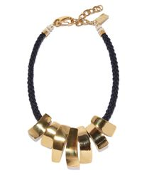 Lizzie Fortunato | Metallic The Composition Necklace | Lyst