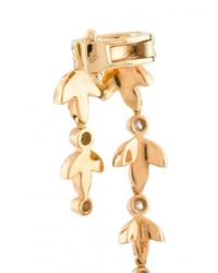 Yvonne Léon - Metallic Dangly Cuff Diamond Earring - Lyst
