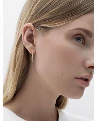 Azlee | Multicolor Circuit Diamond Hoop Earrings | Lyst