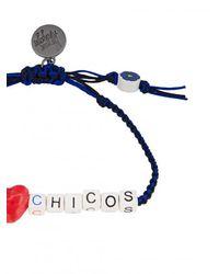 Venessa Arizaga - Blue I Love Chicos Bracelet - Lyst