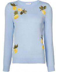 Altuzarra - Blue Harding Embellished Sweater - Lyst