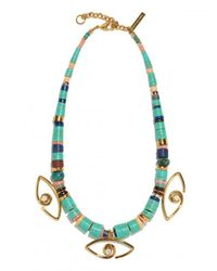 Lizzie Fortunato - Multicolor Eye Of The Sea Necklace - Lyst