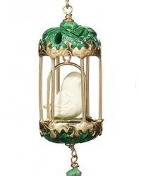 Of Rare Origin - Green Malachite Aviary Classic Earring - Lyst