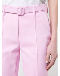 Off-White c/o Virgil Abloh - Pink Slim-fit Trousers - Lyst