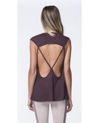 Koral - Purple Aura Sleeveless Top - Lyst