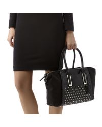 Nine West - Black Feeling Slouchy Satchel - Lyst