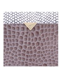 Vince Camuto | Gray Luxer Clutch | Lyst