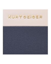 Kurt Geiger - Blue New Saf Zip Around Wallet - Lyst
