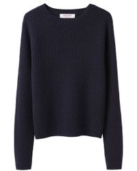 Organic By John Patrick - Blue Thermal Pullover - Lyst