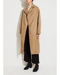 Moderne Natural Writer Trench Coat