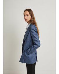 Étoile Isabel Marant - Blue Orka City Jacket - Lyst