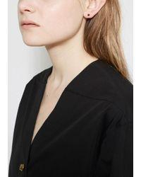Saskia Diez | Multicolor Mini Paillettes Stud No. 2 | Lyst