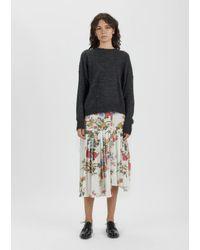 34e44aeefd Isabel Marant. Women's Inaya Asymmetrical Printed Skirt
