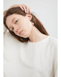 Sophie Bille Brahe - Metallic Eclipse Ariel Earring - Lyst
