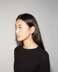 Saskia Diez | White Fine Earrings Cubic | Lyst