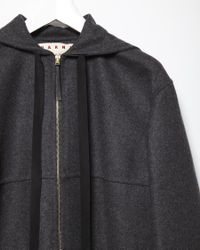 Marni - Black Wool Jacket - Lyst