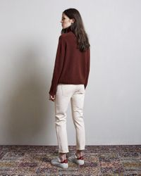 Margaret Howell - Multicolor Cashmere Wide Roll Neck - Lyst
