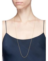 """Loquet London - Multicolor 14k Yellow Gold 32"""" Chain - Lyst"""