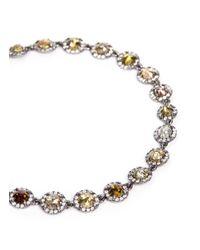 Monique Péan   Metallic 'atelier' Halo Diamond 18k Gold Bracelet   Lyst