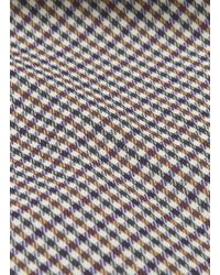 Ffixxed Studios - Multicolor 'leisure' Sash Neck Tie Houndstooth Check Plaid Top - Lyst