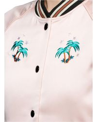 COACH - Multicolor X The Webster Miami Embroidered Silk Souvenir Jacket - Lyst