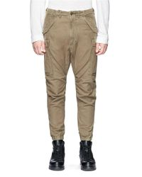 R13 - Green Canvas Cargo Pants for Men - Lyst