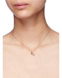 Bao Bao Wan - Metallic 'little Baby Bottle' 18k Gold Diamond Pearl Necklace - Lyst