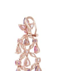 Anabela Chan - Pink Diamond Gemstone 18k Gold Vermeil Chandelier Earrings - Lyst