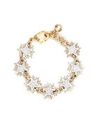 Lulu Frost | Metallic 'cosmic' Asymmetric Star Brass Bracelet | Lyst