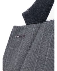 Paul Smith - Gray London Grey Soho Slim-fit Checked Wool Suit for Men - Lyst