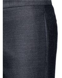 Maison Margiela - Gray Drawstring Wool Pants for Men - Lyst
