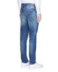 Denham | Blue 'razor' Slim Fit Cotton Jeans for Men | Lyst