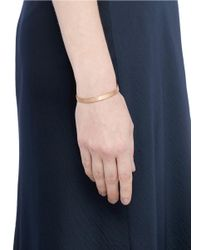 Le Gramme - Metallic 'le 15 Grammes' Brushed 18k Rose Gold Cuff - Lyst