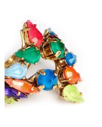 Erickson Beamon | Multicolor 'Splash' Neon Crystal Ring | Lyst