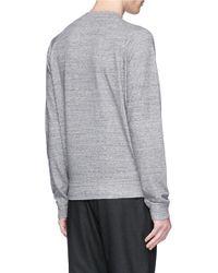DSquared² - Gray Logo Print Cotton Sweatshirt for Men - Lyst