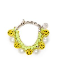 Venessa Arizaga - Yellow 'happy-go-lucky' Bracelet - Lyst