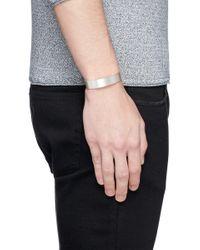 Le Gramme | Metallic Le 21 Grammes Bracelet for Men | Lyst