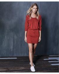 Lanston - Multicolor Scoop Mini Dress - Lyst