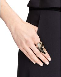 Lanvin - Multicolor Ring - Lyst