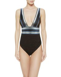 La Perla | Blue Body Suit | Lyst
