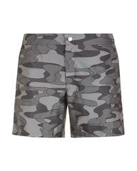 La Perla | Multicolor Camouflage Swim Shorts In Jacquard Technical Fabric for Men | Lyst