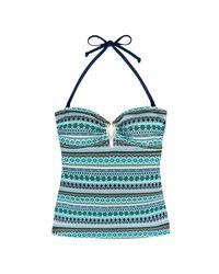 DORINA - Blue Underwired Tankini Swimsuit Top - Lyst