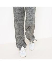 LA REDOUTE - Gray Yoga Pants - Lyst